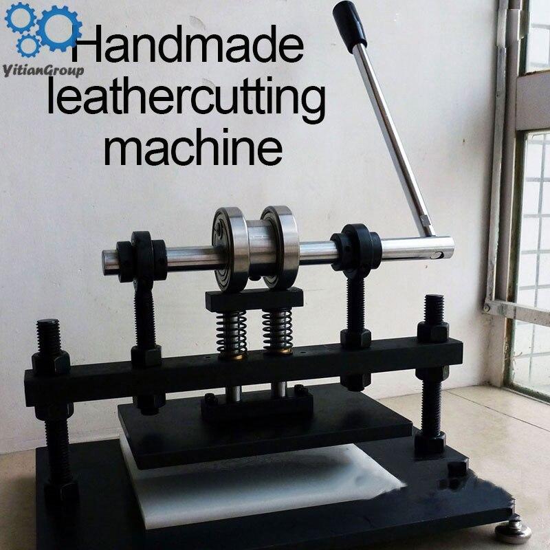 Manual Die Cutting Machine, Leather Leather Indentation / Cutting Machine, Punch Leather Die Cutting Machine