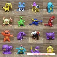 TAKARA TOMY Toys PVC Action Figures 100pcs 150pcs Pokemon Doll Model Toys Children Gifts 5cm