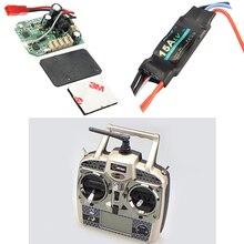 Wltoys piezas de repuesto para helicóptero RC V950, tablero receptor de V950 020, transmisor ESC/V950 021 de V966 026