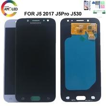 Super AMOLED wyświetlacz do Samsung Galaxy J5 Pro 2017 J530 J530F SM-J530F J530M wyświetlacz LCD ekran dotykowy Digitizer czujnik zgromadzenie tanie tanio NONE CN (pochodzenie) Ekran pojemnościowy 1280x720 3 LCD i ekran dotykowy Digitizer Galaxy J530 Black White Gold 5 0 inch