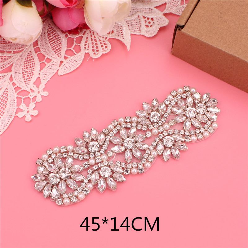 Wedding dress belt bridal belt ladies belt pearl rhinestone belt evening dress belt wedding accessories