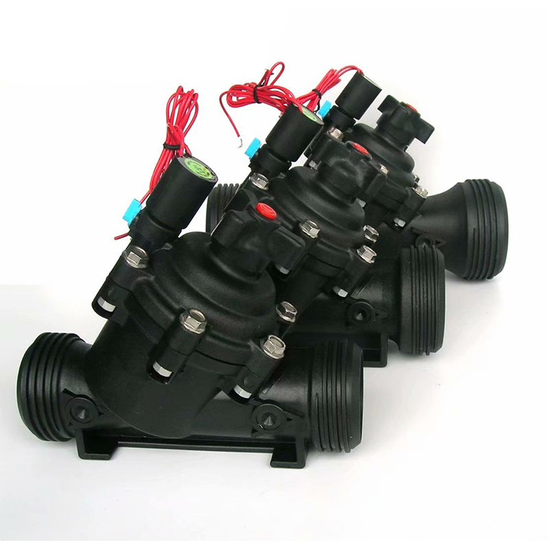 3 Inch Normally Closed Irrigation Solenoid Valve 220VAC 24VDC 24VAC 110VAC DC Latching Agricultural Irrigation