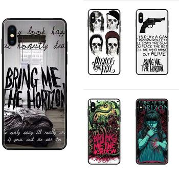 Metalcore Band Bmth Logo Phone Cases For Huawei Honor Mate Play V10 View 10 20 20X 30 Lite Pro Y3 Y5 Y9 Nova 3 3i Pro image