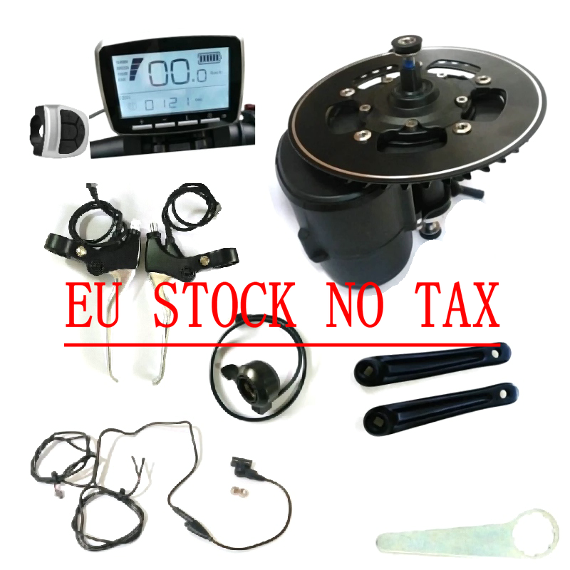 Nenhum Imposto DA UE Tongsheng TSDZ2 Kit ebike Do Motor Sensor de Torque 36V 48V 52V Ebike Do Motor Com o Polegar nível de Freio do acelerador e Corte