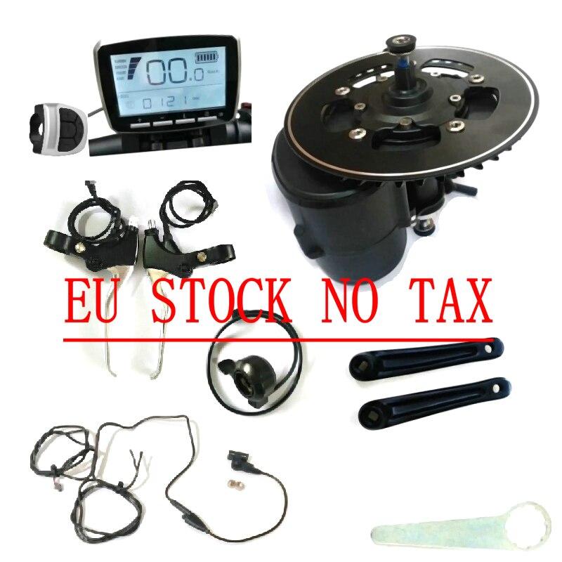 Ue nenhum imposto tongsheng tsdz2 ebike kit sensor de torque do motor 36 v 48 v 52 v motor ebike com acelerador polegar e nível de freio de corte