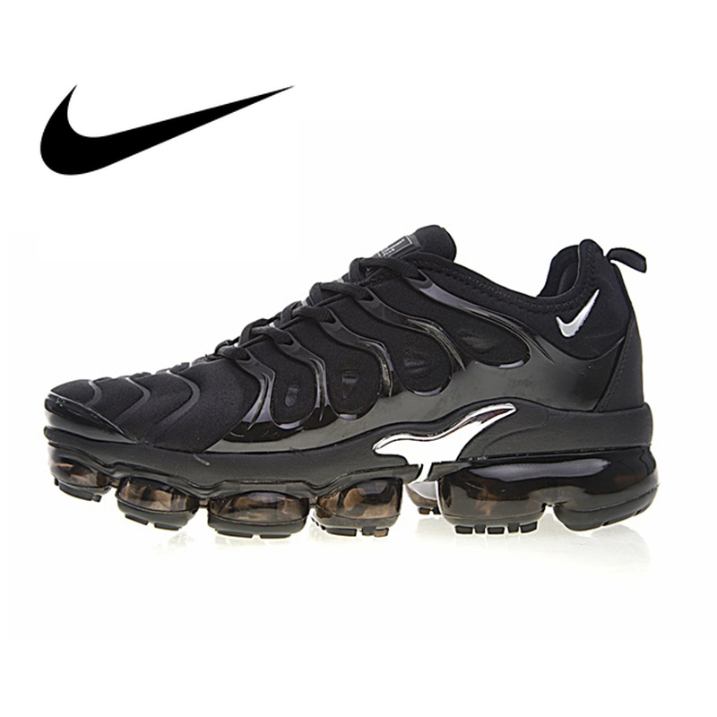 Nike Air Vapormax Plus TM Men's Breathable Running Shoes Sneakers Outdoor Sport Walking Jogging Top Quality Footwear 924453-006 image
