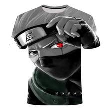 Anime T-shirt Naruto Boruto 3D Print Streetwear Mannen Vrouwen Harajuku Hip Hop Tshirt Casual Mode Tees Tops Mannelijke Kleding