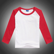 T-Shirts Baby-Boy Solid for Boys Girls Kids Christmas And Tops High-Quality Long-Sleeves