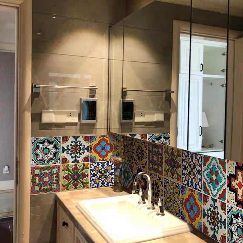 Купить самоклеящиеся наклейки на стену пвх пол для кухни туалета барной