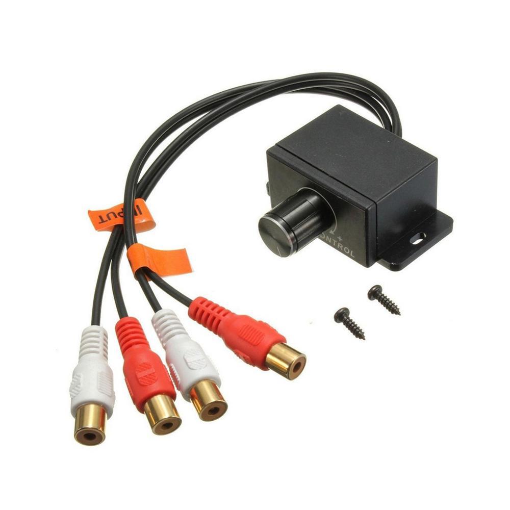 En salling funda del. Nuevo amplificador de Audio para coche bajo RCA nivel Mando a distancia Control de volumen LC-1 Universal Cargador USB para coche de carga rápida 3,0 4,0 Universal 18W carga rápida en coche 3 puertos cargador de teléfono móvil para samsung s10 iphone 11 7