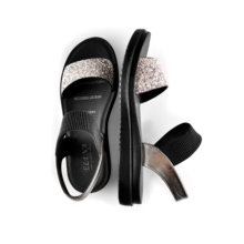2020 Women Sandals Summer Beach Bling Crystal Rome Large Siz