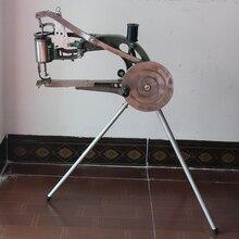 נעל ידנית מכונת תפירת כותנה ניילון חוט עור סנדלר ידנית תפירת כלים מכונת תפירת נעליים