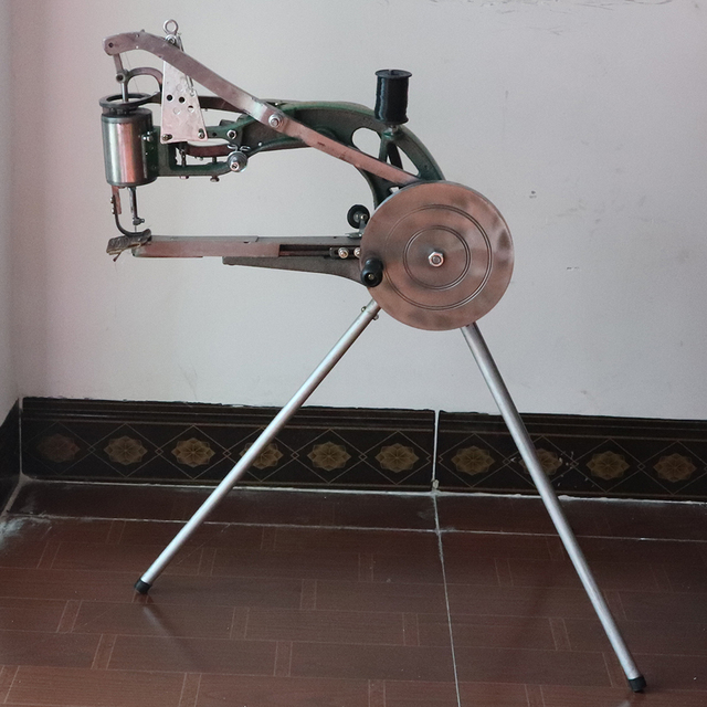 Manual Shoe Sewing Machine  Double cotton nylon thread leather Shoemaker manual sewing tools Shoe sewing machine