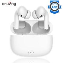 Onliving EP29 Bluetooth 5.2 Draadloze Koptelefoon Active Noise Cancelling Tws Oordopjes Anc Eaphone IPx5 Waterdicht Met Dual Micphone