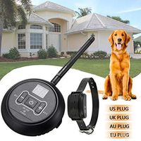 Wireless Electric Dog Fence Containment System Transmitter Collar Pet Supplies C63B