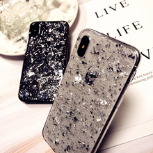 Luxury Dream Conch Glitter Case For iPhone X XS MAX XR Crystal Soft Silicon 8 7 6 6S Plus Woman Phone Coque