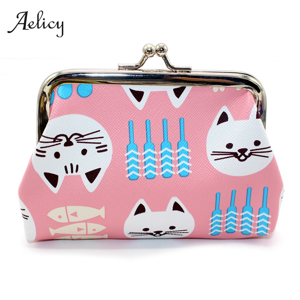 Leopard,Tiger,Pink Flowers Pattern Canvas Change Coin Purse Small Cute Money Bag with Zip
