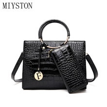 New 2019 Elegant Shoulder Bag Women Designer Luxury Handbags Bags Sexy Crocodile Messenger Crossbody