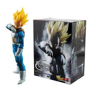 Image 2 - Figuras de acción de Dragon Ball Z, 3 sets, Goku, juguete de modelo de colección en PVC, Super Saiyan, Son Gohan, Zamasu, figura de Broly, juguetes para niños