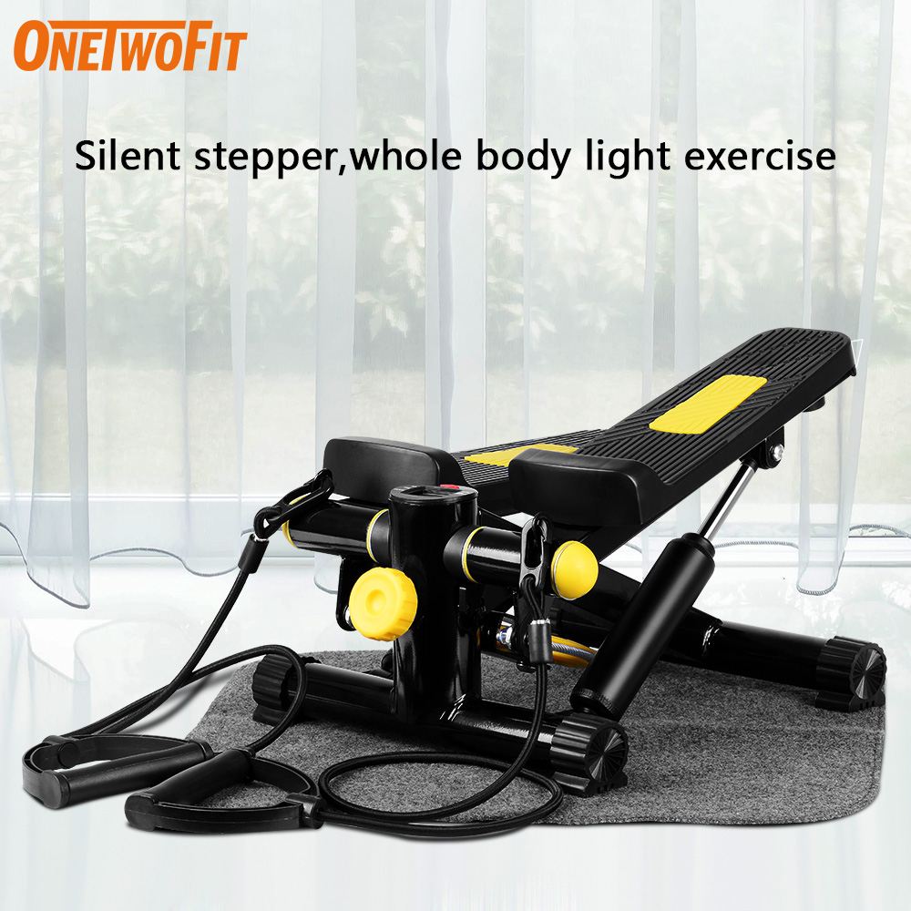 Mute Exercise Steppers Household Sports Gym Fitness Equipment Female Weight Loss Multifunction Skinny Legs Foot Slimming Machine