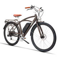 26inch electric bicycle 48V500W high speed motor electric road bicycle Retro ebike lightweight frame  Comfortable saddle road
