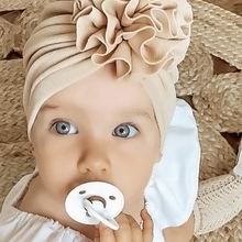 Hat Turban Bonnet Beanie Cap Headwraps Flower Soft Toddler Newborn-Baby Infant Baby-Girl