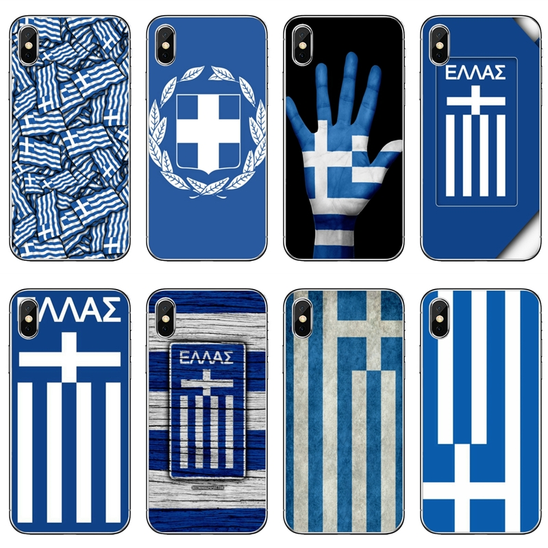 Греческие флаги Греции, аксессуары, чехол для телефона Apple iPhone 11 Pro XS Max XR X 8 7 6 6S Plus 5 5S SE