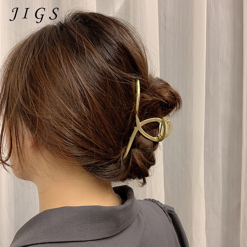 Женские металлические большие Когти для волос аксессуары для волос шикарные заколки для волос женские заколки для волос Головные уборы укр...