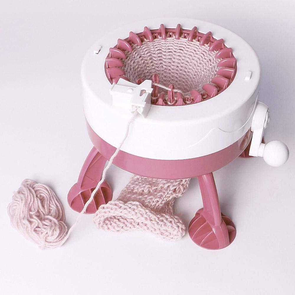 Knitting Machine 22 40 Needles Weaving Machine Manual Automatic Weaving Loom Kit Children DIY Weaving Sewing