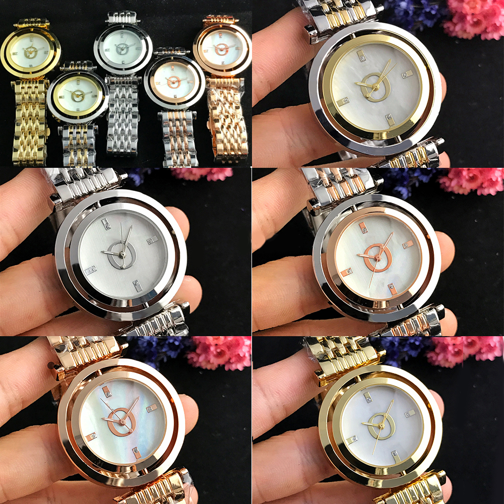 RLLEN Stainless Steel Men Women Couples Quartz Watches Fashion Luxury Jewelry Gift Generous Exquisite  Original Copy Jewelry