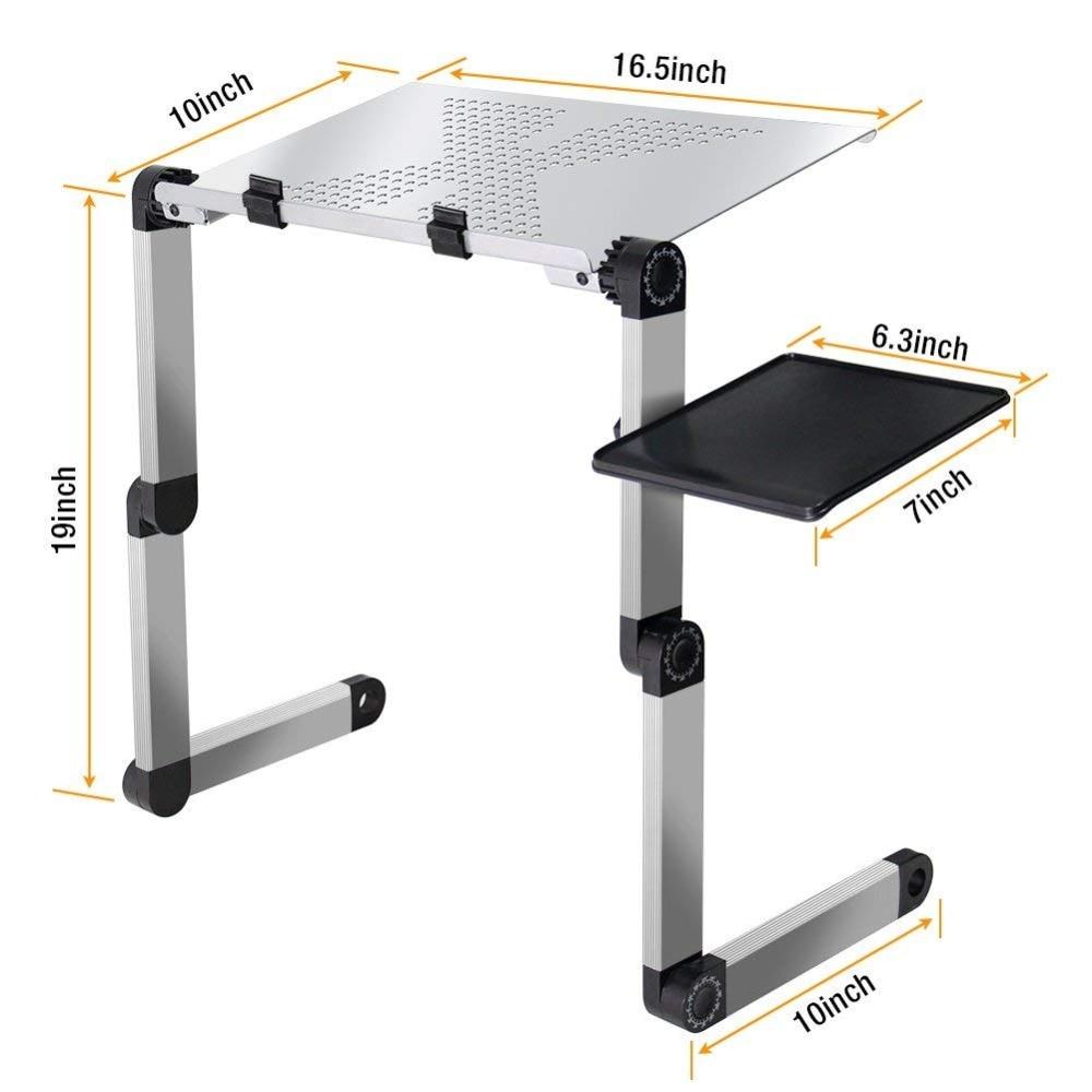 מעמד שולחן מתכוונן למחשב הנייד LEHUOSHIGUANG 4