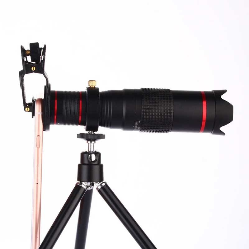Universal Clip on 22x Dual Zoom Telephoto Telescope 4K HD Phone Photo Lens Lenses for iPhone 6S Plus 6S 6 Plus 6 5S 5C 5 SE 4S 4