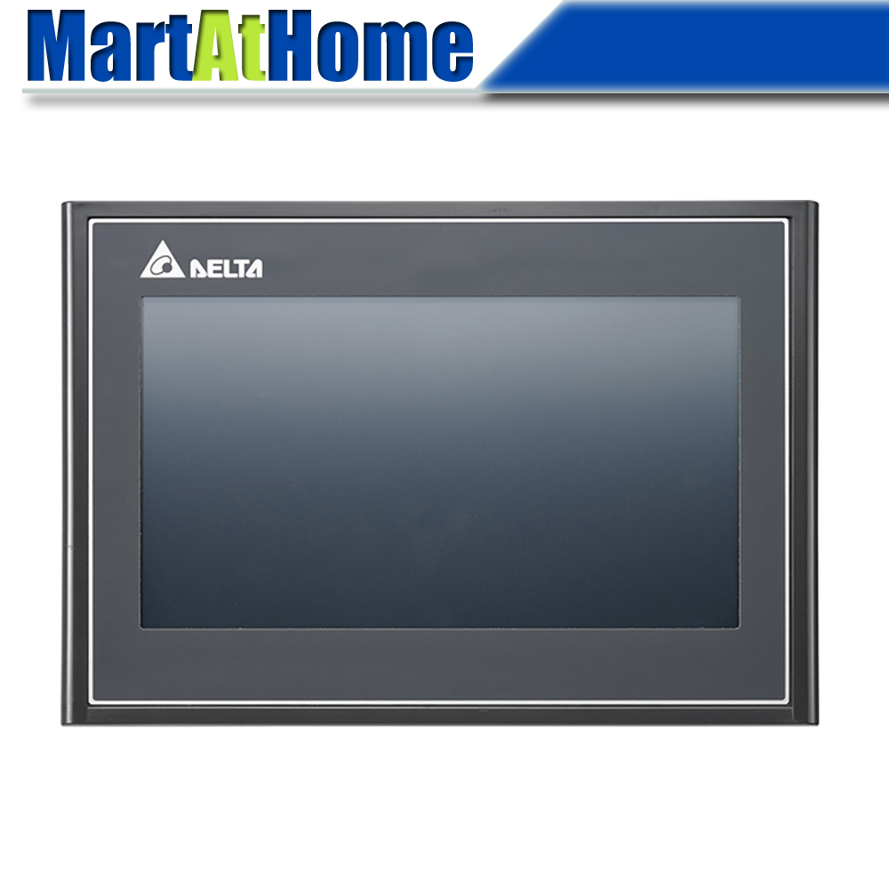 DELTA DOP-107WV Advanced Ethernet 7 Inch TFT Touch Panel HMI Human Machine Interface 2 COM Ports 256 MB USB