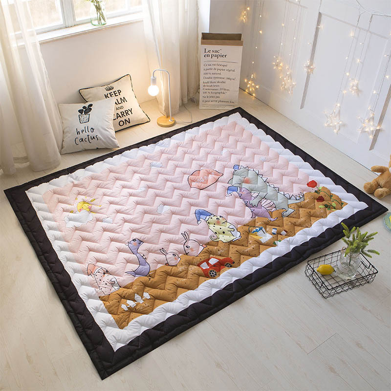 Baby Activity Playmat Portable Carpet Baby Developing Crawling Mat  Large Washable Kids Accessories Room BXX030