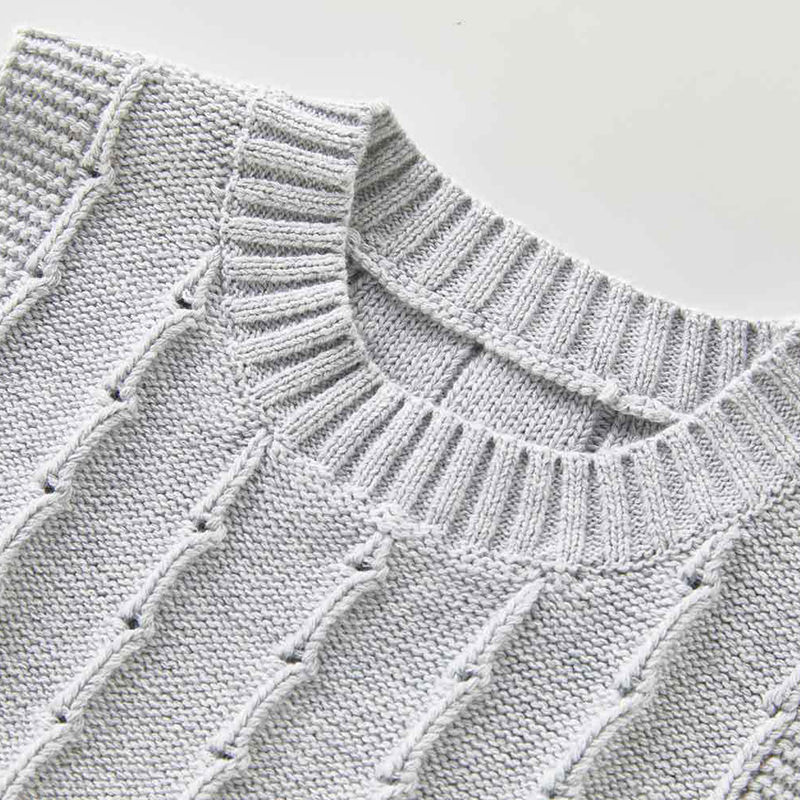 Autumn Newborn Baby Boys Girls Cotton Knitted Sleeveless Vest Cute Solid Sweater Knitted Vest Coat Korean Japan Style 6