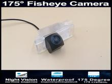 Car Rear view Camera 175 Degree 1080P Fisheye Lens Reverse Camera Parking for Peugeot 2008  2014 2015 2016 Reversing Car Camera 175 degree 1080p fisheye lens reverse camera parking car rear view camera for toyota alphard vellfire 2007 2015 car camera