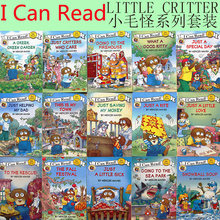 children's English stories, books, little hairy, little monsters, English picture books, Volume 15, CD coloring books for kids little books yellow ted sb with cd rom