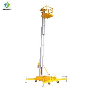 Hydraulic Single Mast Electric Aluminum Alloy Lift Ladder