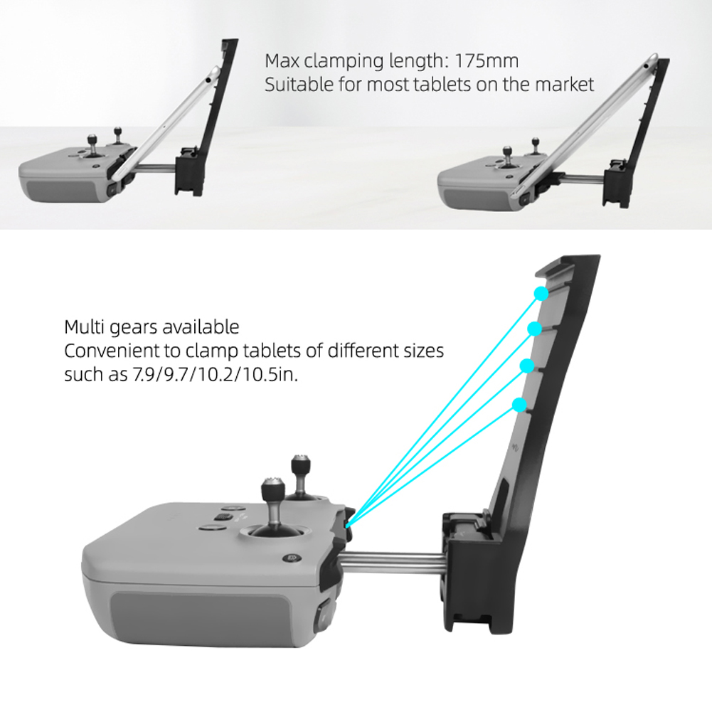 Multi Level Remote Control Tablet Holder Stand Bracket for DJI Mavic Air 2 Controller