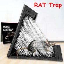 Mouse Board Sticky Rat Glue Trap Mice Glue Board Mice Catcher Trap Non-toxic Pest Control Killing Bait Catcher Traps
