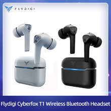 Flydigi Cyberfox T1 True Wireless Bluetooth Headset PUBG Low Latency Game Music Long Battery Life Noise Reduction In Ear