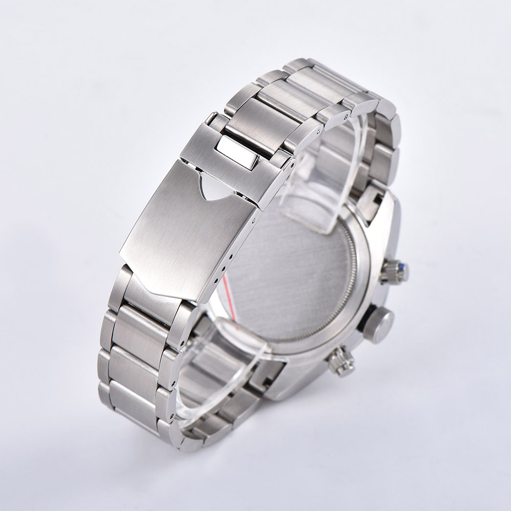 2019 новые мужские часы 41 мм Schwarz Bay 79350 хронограф кварцевые японские MIYOTA VK64 Move Мужские t 316L чехол из нержавеющей стали часы - 6