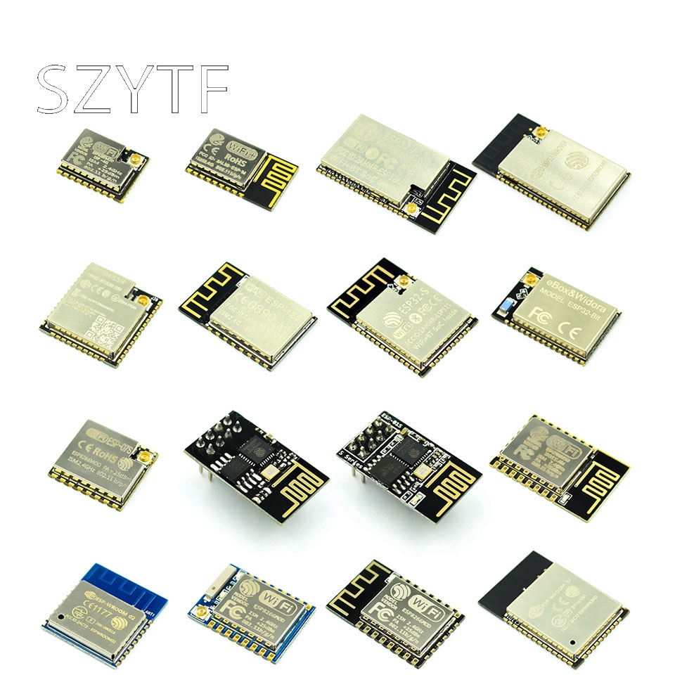 ESP-01 ESP32-M3 ESP-12 ESP-WROOM-32U Wireless WiFi + Bluetooth Dual-core CPU