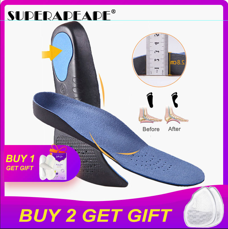 High Quality Flat Foot Orthotics Orthopedic Insoles Varus Feet Cushion Pads Care Insoles Orthopedic Plantillas Para Los Support