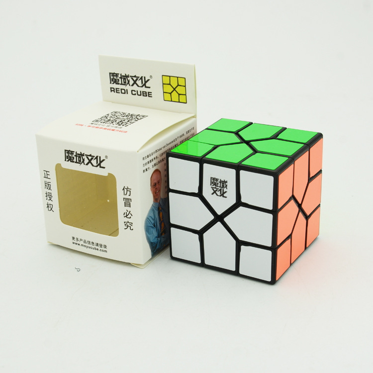 [Demon Culture Redi Rubik's Cube] Three Layer Special Shape Students Children Intelligence Educational Toy RUBIK'S CUBE Wholesal