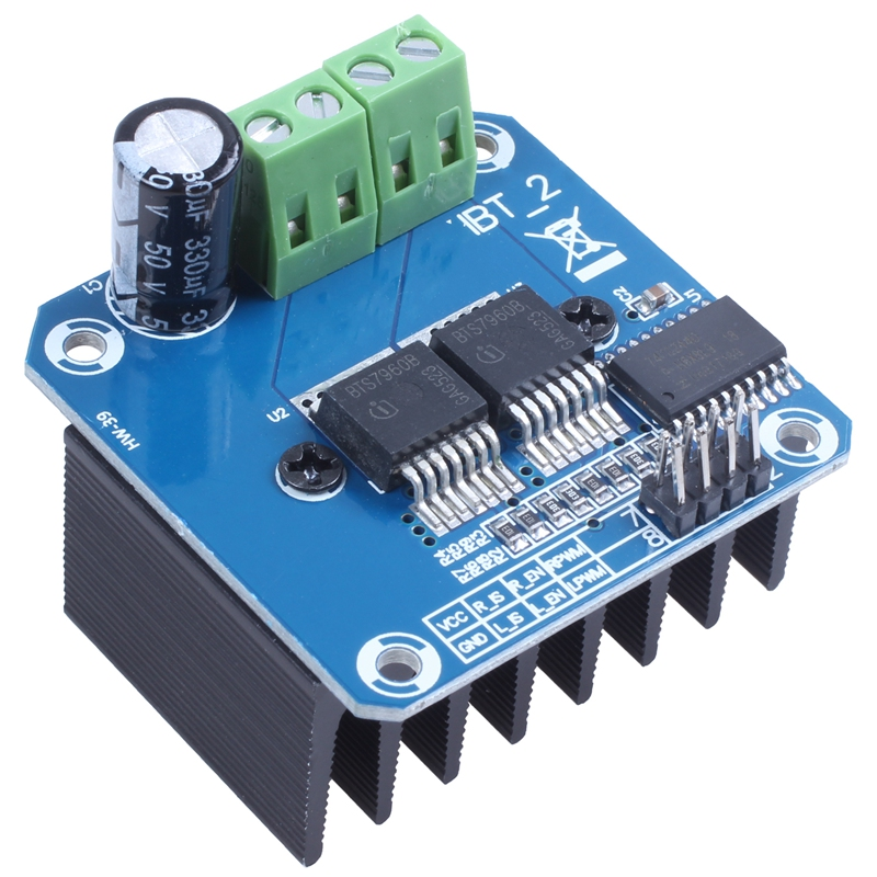 Semiconductor Motor Driver Auto BTS7960 43A H-Bridge PWM Drive For Arduino HOT
