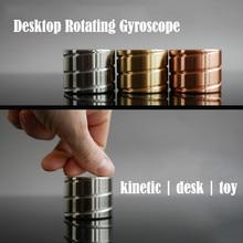 Bureau décompression rotatif Gyroscope cylindrique bureau bureau Fidget jouets Illusion d'optique coulant doigt jouets cadeaux pour adultes