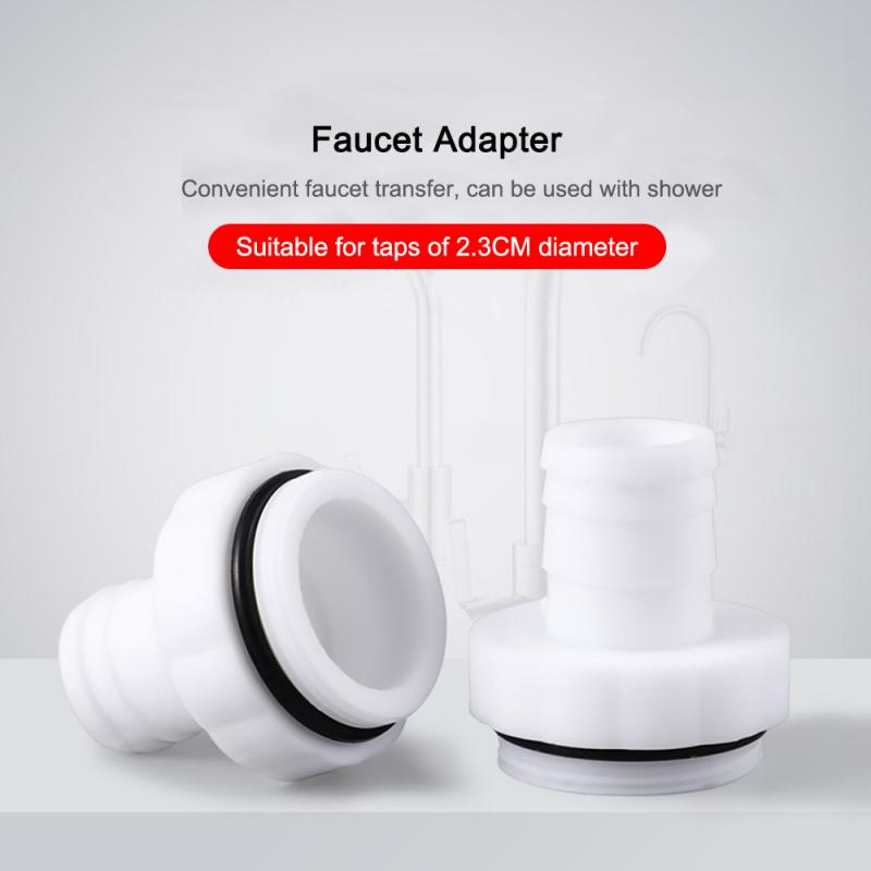 Plastic Shower Faucet Splash Head Adapter Universal Kitchen Basin Multi-Function Adapter Fittings Faucet Accessories Hot Sale