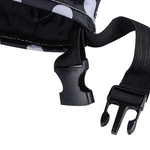 Детская коляска, сумка для подгузников, органайзер, водонепроницаемый держатель для бутылочек, корзина, большая емкость, органайзер для коляски, сумка для подгузников