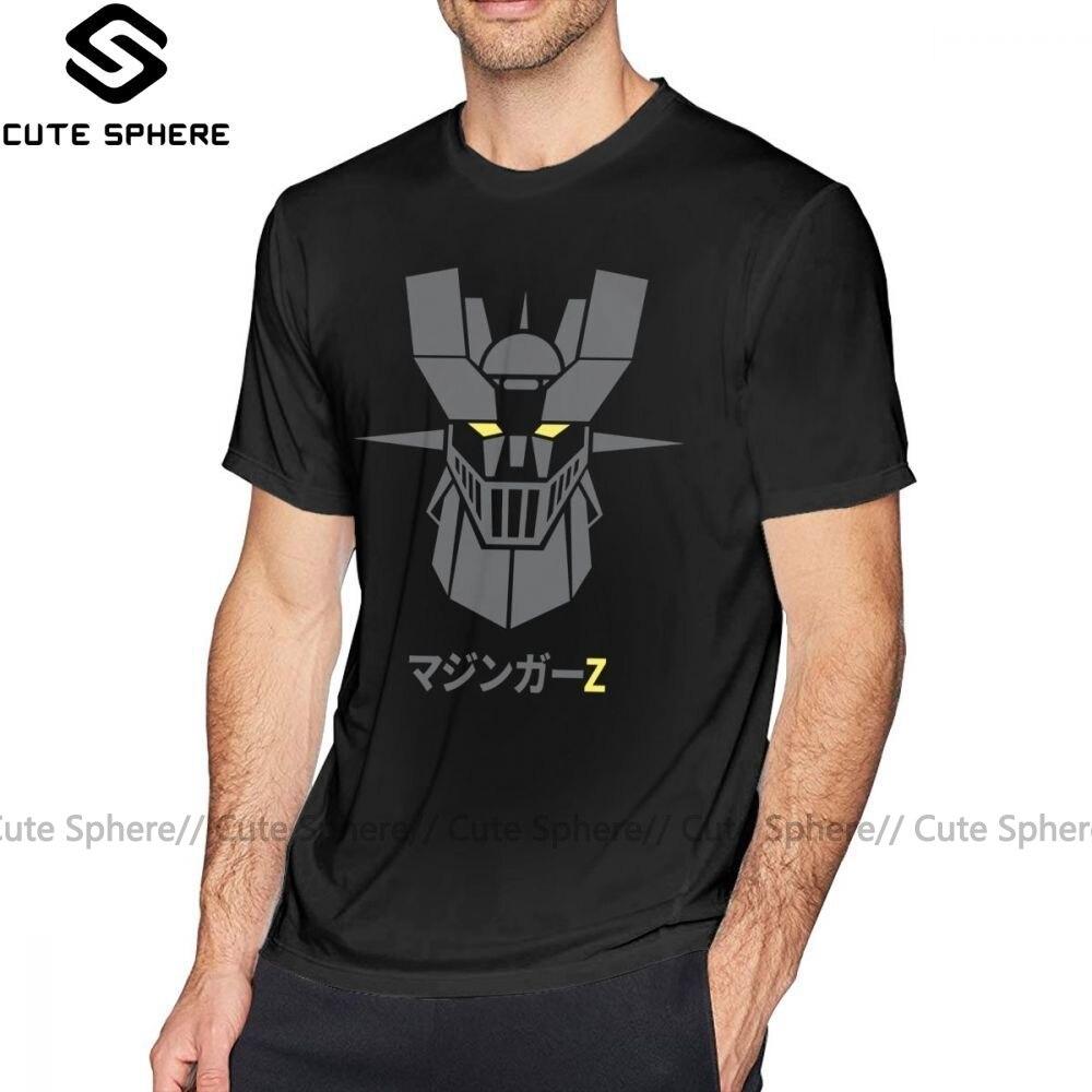Mazinger t shirt mazinger z escuro t-camisa de manga curta impresso camiseta homem moda 5x diversão 100 por cento algodão tshirt